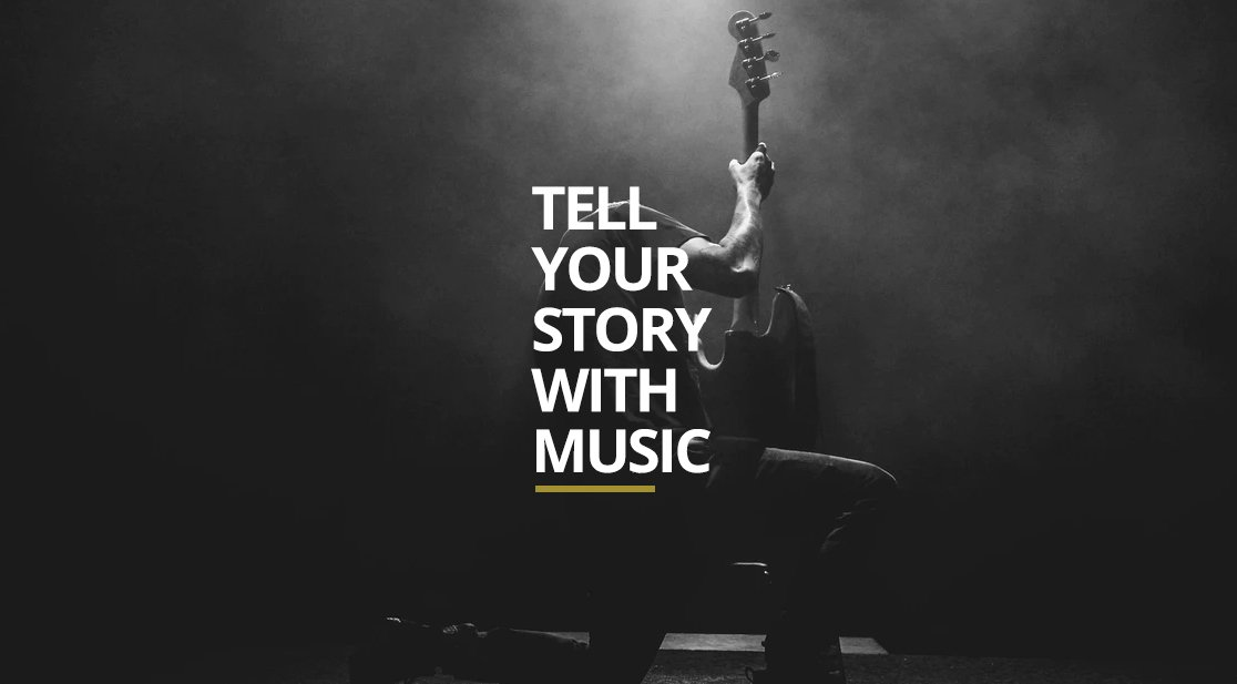 tell your story with music